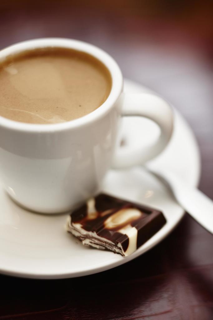 Kaffe og sjokolade