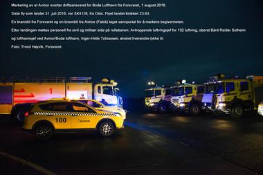 Sivil overtakelse Bodø lufthavn 2016