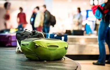 Bagasje på bagasjebånd