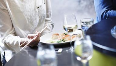 Sushi og vin