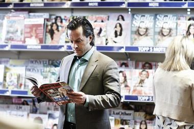 Mann med magasin