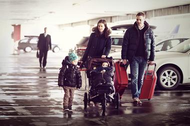 Par med to barn