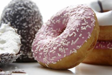 Doughnuts og kokosboller