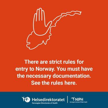 Strenge regler for innreise