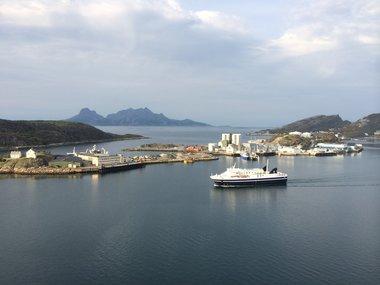 Ferje Bodø - Lofoten