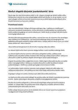Samisk - Informasjon om jevnlig massetesting - til foresatte