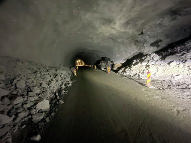 Rv. 5 Fjærlandstunnelen