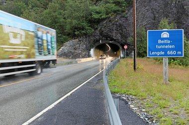 Beitlatunnelen E16