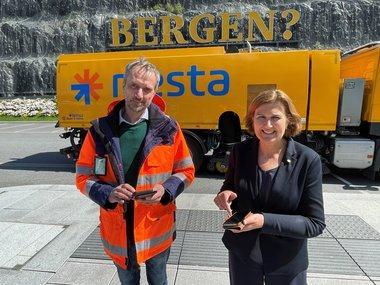 Rolf Dale og Ingrid Dahl Hovland