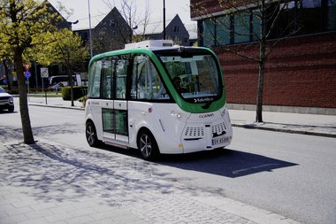 Elektrisk selvgående buss