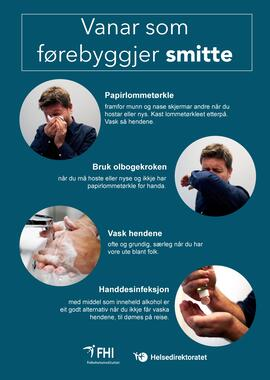 Forebygge smitte